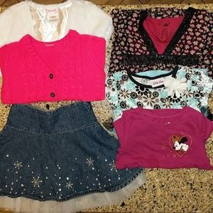 BUNDLED toddler girl Fall clothes. 4 & 4T